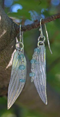 sage earrings spring silver earrings sage leaf by lynncobb on Etsy, $50.00