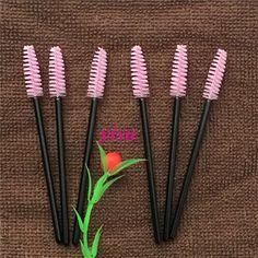 200 Pairs Lash Brush Wholesale Makeup Brush Mascara Wands Applicator Spoolers Disposable Brush for Eyelashes #Affiliate