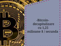 Bitcoin- decapitalizare cu 1,25 milioane $/secunda. Fat-frumosul anului trecut cade accelerat pierzand in trei ore trei miliarde de dolari