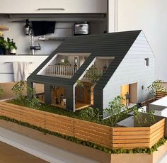 1 million+ Stunning Free Images to Use Anywhere Architecture Model Making, Concept Architecture, Interior Architecture, Architecture Apps, Casas The Sims 4, House Layouts, Model Homes, Modern House Design, Home Fashion