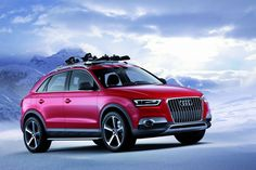 The Audi Q3 SUV is ready to take the crossover scene by storm!