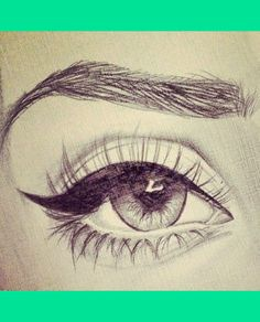 Eyes Drawing | Mrsmelistyles S.'s (famousmeli75) Photo | Beautylish