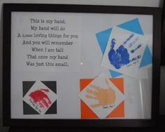 Trendy Holiday Gifts For Grandparents Handprint Art 32 Ideas Grandparents Day Poem, Grandparent Gifts, Fathers Day Crafts, Crafts For Boys, Toddler Crafts, Craft Gifts, Diy Gifts, Quotes Girlfriend, Daughter Quotes