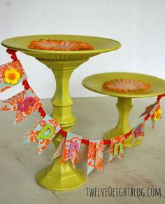 DIY Cake Stands : DIY Cake Stands