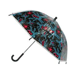 CTM® Childrens Spider Stick Umbrella. Pinch proof runner. Manual Open