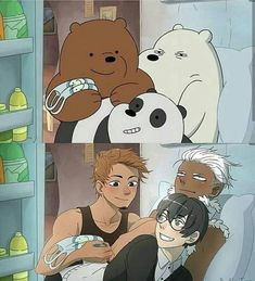 Cartoon Network but in Anime Anime Vs Cartoon, Cartoon Shows, Cartoon Art, Drawing Cartoons, Cartoon Characters As Humans, Anime Characters, We Bare Bears Human, Desenhos Cartoon Network, Anime Version