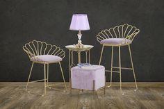 #homedecor #interiordesign #inspiration #decor #design #pink #metal #gold Interior Design, Chair, Metal, Modern, Table, Pink, Inspiration, Furniture, Glamour