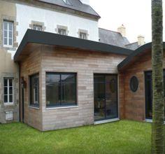 """Résultat de recherche d'images pour """"extension garage toit plat"""""""