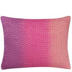 Suzani Fuchsia - Tactile Tie Dye Throw Pillow | Designers Guild USA