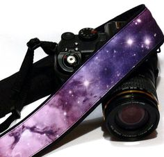 Cosmos Camera Strap. DSLR Camera Strap. Galaxy by LiVeCameraStraps