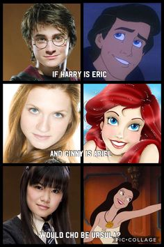 She was Harry's crush, but Harry ended up with Ginny! Harry Potter Mems, Harry Potter Disney, Mundo Harry Potter, Harry Potter Facts, Harry Potter Universal, Harry Potter Characters, Harry Potter World, Harry Potter Drawings, Harry Potter Pictures