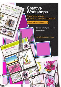 pretty pink ponies: D.I.Y. Workshops (at your door)!