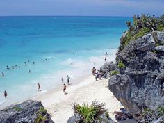 The Beaches of Cancun and the Mayan Riviera: Tulum Ruins Beach
