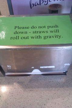 This sign at McDonald's: