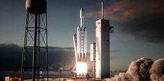 Первый запуск Falcon Heavy состоится в ноябре http://bit.ly/2we2U9D  #ElonMusk #ИлонМаск #SpaceX #FalconHeavy