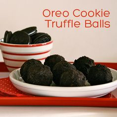 oreo cookie truffle balls - One Charming Party