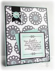 Sweet 'n Sassy Stamps: Faith