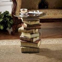 5 Ways to Use books in home decorating
