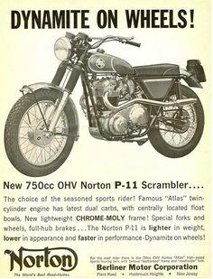 Norton  - note the scrambler add ons!