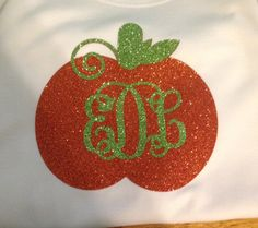 Hey, I found this really awesome Etsy listing at https://www.etsy.com/listing/200720441/personalized-pumpkin-shirt