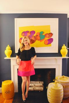 Style At Home: Amelia Eichholz Of Colour Bloc | theglitterguide.com