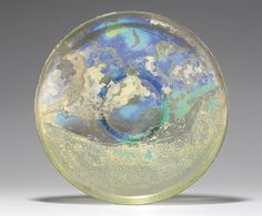 A ROMAN GLASS PLATE CIRCA 3RD-4TH CENTURY A.D. | Christie's