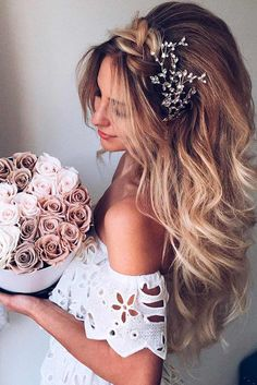 Luxury Wedding Hairstyle for Long Hair picture 2