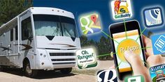 Most of us don't consider a smartphone app to be essential on our packing lists, but these 12 apps can be an asset during a countrywide RV excursion.