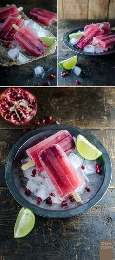 Spiced Butternut Squash, Apple and Pomegranate Pops - You can make ...