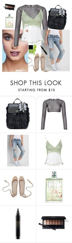 """""""Teen Embroidery"""" by denibrad ❤ liked on Polyvore featuring Butter London, Karl Lagerfeld, PA5H, Silver Jeans Co., Marina Rinaldi, Escentric Molecules and MAC Cosmetics"""
