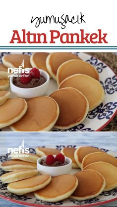 kişinin defterindeki… How to make Golden Pancake Recipe (Soft) Here is a description of this recipe in the book of people and photographs of the experimenters. Snack Recipes, Dessert Recipes, Snacks, Pancake Recipes, Köstliche Desserts, Delicious Desserts, Saffron Cake, Good Food, Yummy Food