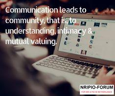 Community Quotes, Communication