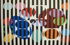 Renjeau Galleries. Yaacov Agam (b. 1928) is an Israeli sculptor and experimental artist best known for his contributions to optical and kinetic art.