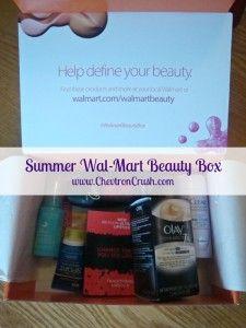 Wal-Mart Beauty Box – Summer 2015