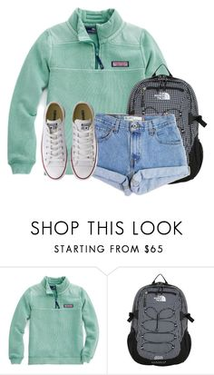 """""""When you are literally the only people at school"""" by flroasburn on Polyvore featuring The North Face, Levi's and Converse"""