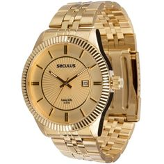 Relógio Dourado - Golden Watch