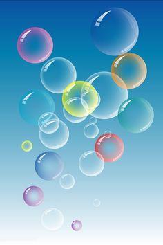 Bubbles Wallpapers For Mobile Phones, Mobile Wallpaper, Cellphone Wallpaper, Iphone Wallpaper, Qhd Wallpaper, Silk Art, Soap Bubbles, Vector Design, Art Tutorials