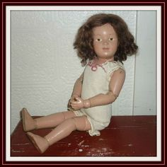 Schoenhut Doll 14/312 - Antique Character Doll - 1920-1924 - Lovely (item #1334766) via dolllighted #dollshopsunited