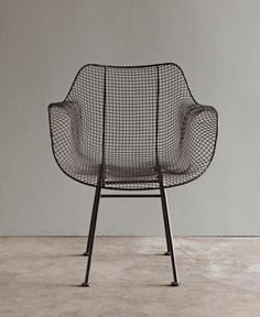 The Biscayne Chair is a classic chair for a garden patio or in a mix of chairs around a mid-century dining table. We use our outdoors but pull them in for the winter months in the Northeast. .. They a