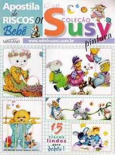 Coleção Susy Pintura - Apostila e Riscos Bebê 01 - Rosana Mello - Picasa Web Albums
