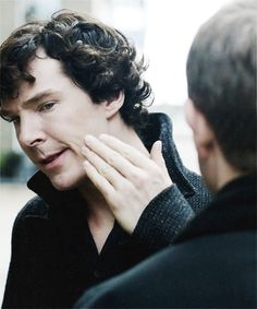 A Scandal In Belgravia...can we discuss Benedict's hair right here? I wanna just muss it with my fingers sooooo badly!