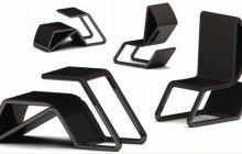 Flip-Over Furniture: Convertible Chair-and-Desk Design | Designs & Ideas on Dornob