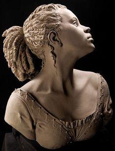 Philippe Faraut. Скульптура из глины. Рапунцель Запутанная история Корни. Другой ракурс