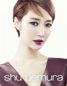 "Go Jun Hee Shows Her Autumn Beauty With ""Shu Uemura"" | Koogle TV"
