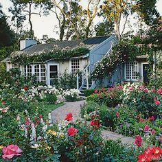 Guide to Cottage Gardening - Sunset Magazine