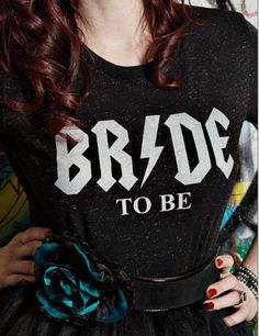 Alternative Bride Tee Rocker Bride Collection by ShopSheRiot