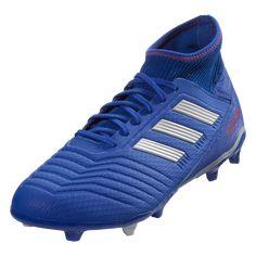 4b5cd656c3d1 adidas Predator 19.3 FG Soccer Cleat Blue/Silver/Red-10.5 Adidas Predator,