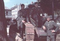 Char Renault FT 17 de la Grande Guerre en service dans la Wehrmacht dans la Seconde Guerre mondiale. Pin by Paolo Marzioli