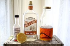 Vanilla Bean Whiskey Cocktail  and how to infuse whiskey with a vanilla bean