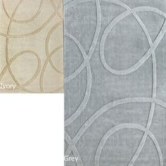 @Overstock.com - nuLOOM Handmade Neutrals and Textures Ribbons Wool Rug (5' x 8') - Add some softness and style to your living space with this abstract handmade wool rug. Available in grey or ivory and featuring carved patterns, this rug offers modern appeal. A 0.65-inch pile height and canvas backing makes this rug soft and durable.  http://www.overstock.com/Home-Garden/nuLOOM-Handmade-Neutrals-and-Textures-Ribbons-Wool-Rug-5-x-8/5479441/product.html?CID=214117 $168.99